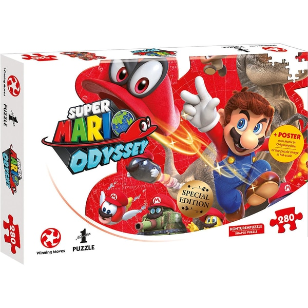 Winning Moves Puzzle Super Mario Odyssey Mario And Cappy 280 Teile