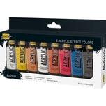 C. Kreul Solo Goya Acrylfarbe Effect Colors 8 x 20 ml