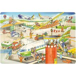 Eduplay Rahmenpuzzle Flughafen 35 Teile