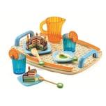 DJECO Rollenspiel Kinderküche - Geschirrset Gaby's Teeparty 10-tlg.
