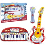 Bontempi Keyboard Gitarre Mikrofon Set