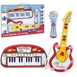 Bontempi Keyboard Gitarre Mikrofon Set