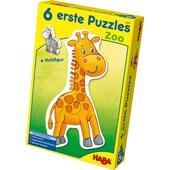 Haba 6 erste Puzzles Zoo 2x4-teilig
