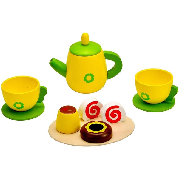 Idena Kaffee-Set Holz