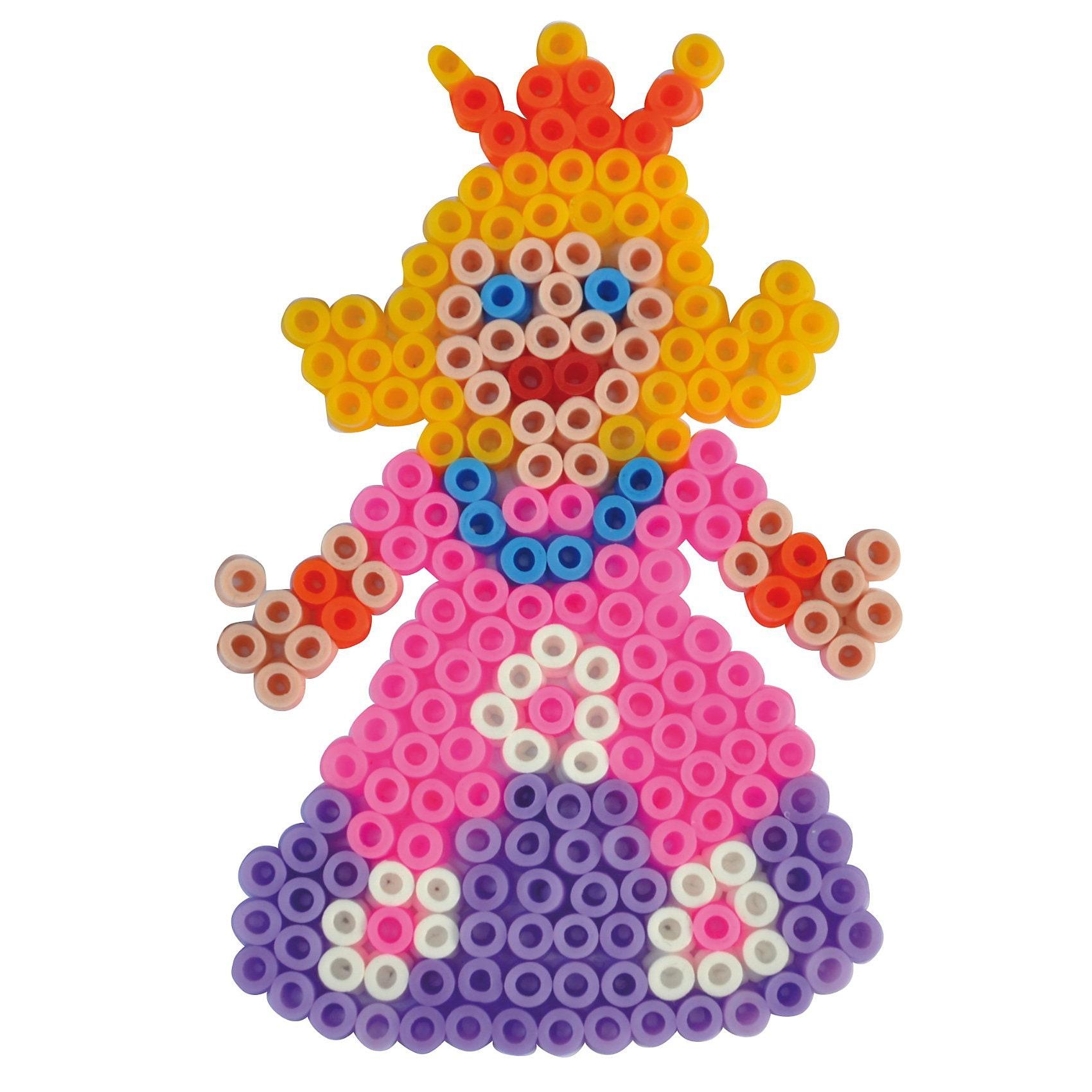 Playbox Bügelperlenset Prinzessin, 2.000 Perlen & Zubehör