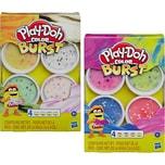 Hasbro Play-Doh Color Burst Pastellfarben 4 Dosen à 56 g