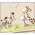 Herding Wende-Kinderbettwäsche Jana Safari Linon 100 x 135 cm