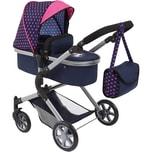 Bayer Puppenwagen City Neo blau/pink mit Einhorn