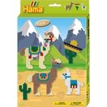 Hama Perlen 3443 Geschenkset Alpakas 2.000 Midi-Perlen Zubehör