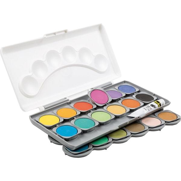 Idena Deckfarbkasten 24 Farben inkl. Deckweiß