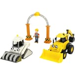 Dickie Toys Bob der Baumeister Garagen Set mit Rocky Bob