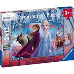 Ravensburger 2er Set Puzzle je 12 Teile 26x18 cm Frozen 2
