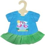Heless Kleid Flamingo Gr. 35-45 cm Fair Trade Puppenkleidung