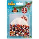 Hama Perlen HAMA 4118 Blister Weihnachten Kreis 450 midi-Perlen Zubehör