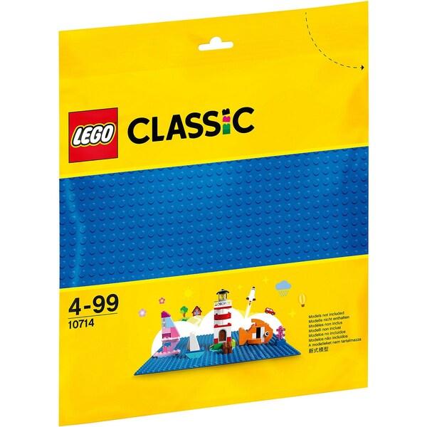 LEGO Classics 10714 Grundplatte blau