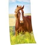 Herding Strand- Badetuch Pferd 75 x 150 cm