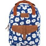 Back up Freizeitrucksack Model CA White Flowers 20 l