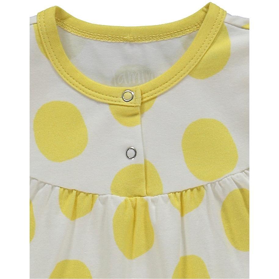 Lamino Strampler für Mädchen Organic Cotton
