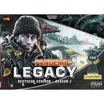 Asmodee Pandemic Legacy Season 2 Schwarz Spiel