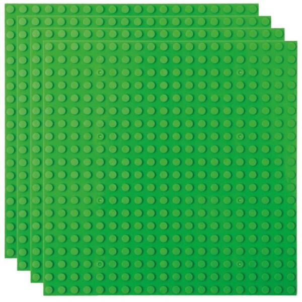 Basisplatte 20x20 Grün Viererpack