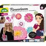 LENA Flowerloom Webrahmen Wollblüten