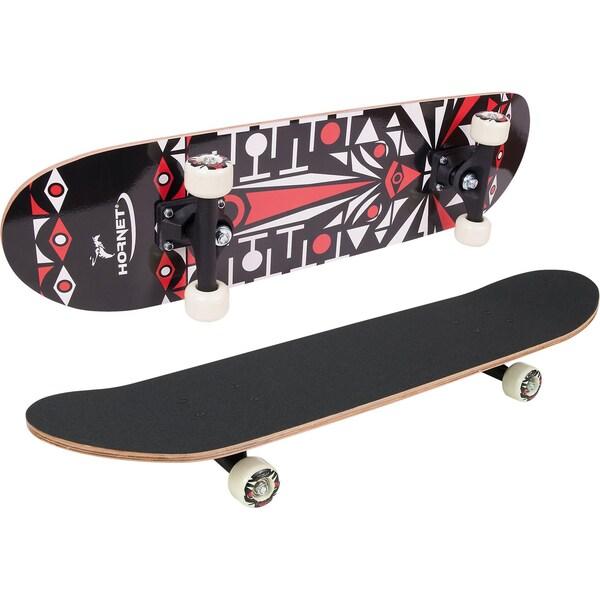 Hornet by Hudora Hornet Skateboard ABEC 1 schwarz rot