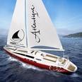 Jamara Segelboot Atlantique mit Motor und RC Fernsteuerung 27Mhz 2CH RTR