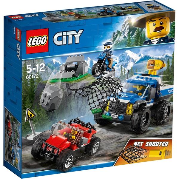 LEGO City 60172 Verfolgungsjagd auf Schotterpisten