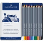 Faber-Castell Aquarell Buntstifte Goldfaber 12 Farben