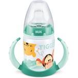 Nuk Disney Winnie Puuh First Choice Trinklernflasche aus PP 150 ml mit Soft-Trinktülle aus Silikon a