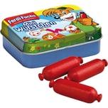 Erzi Spiellebensmittel Ferdi Fuchs Miniwürstchen in der Dose Spiellebensmittel