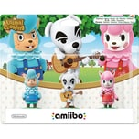 Nintendo amiibo 3er Figuren-Set - K.K. Rosina Björn Animal Crossing