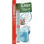 STABILO Bleistift EASYgraph Start Set Rechtshänder blau 4-tlg.