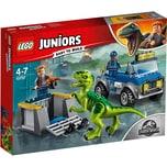 Lego 10757 Juniors Raptoren Rettungstransporter
