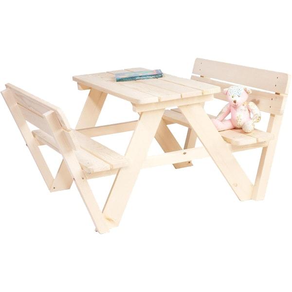Pinolino Sitzgruppe Nicki 2 Bänke mit 1 Tisch