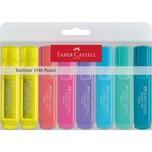 Faber-Castell Textmarker pastell Textliner 8 Farben