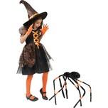 Funny Fashion Kostüm Hexenkleid 2-tlg.