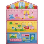 Kinderteppich Puppenhaus 80 x 140 cm