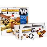 ak tronic Moorhuhn VR Fun Edition inkl. VR-Brille und Spiel für Android/iOS Smartphone