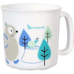 Badabulle Tasse für Mikrowelle Blau