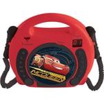 Lexibook Disney Cars Kinder CD Player mit 2 Mikrofonen