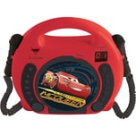 Lexibook Disney Cars Kinder CD Player mit 2 Mikrofonen