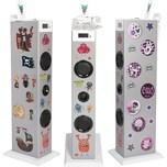 bigben Musikanlage Sound Tower TW5 Silver inkl. Sticker