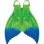 Finis Meerjungfrauflosse Luna Enchanting Emerald Gr.36-42 Blaugrün
