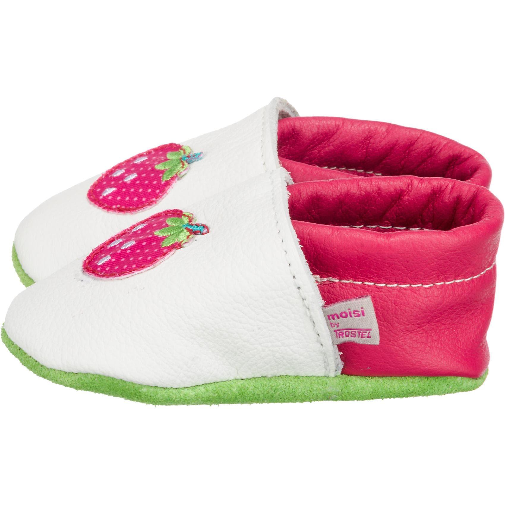 Trostel Krabbelschuhe für Mädchen Erdbeere