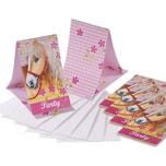 Riethmüller Einladungskarten Pferde 6 Stück inkl. Umschläge