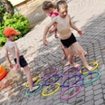Knorrtoys.com Jump in the circle Hüpfringe 10 Ringe
