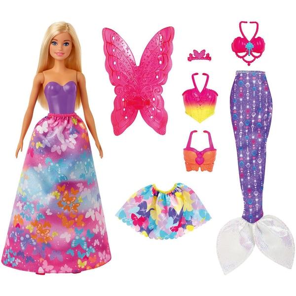 Mattel Barbie Dreamtopia 3-in1-Fantasie Spielset blond