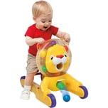 Kids II Bright Starts 3-in-1 Löwe Spielzeug zum Schieben