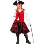 Funny Fashion Kostüm Piratin 3-tlg.